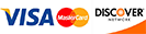 Major Credit Cards Accepted: VISA, MasterCard, and Discover